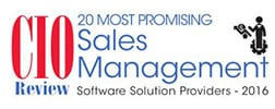 CIO Review - Best Sales Management Solution 2016